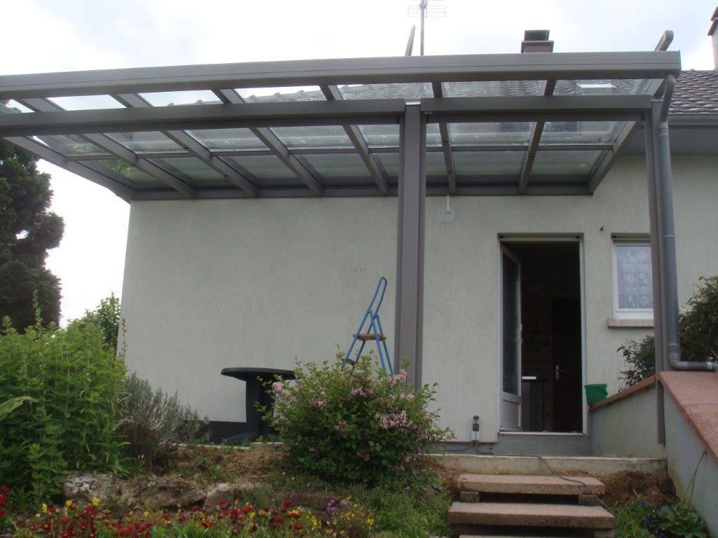 La pergola d bord de toit mod le saphir bourg en - Debord de toit ...