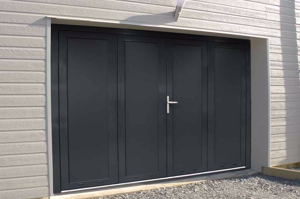 La porte de garage repliable mod le vantal bourg en for Fame porte garage